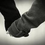 寒い時期の恋の始まりイメージ