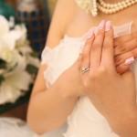 輝く花嫁ネイル