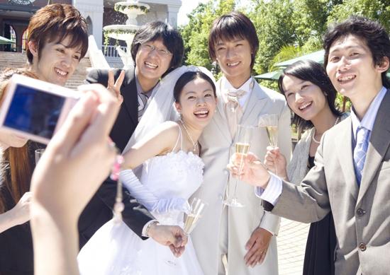 タイミングをつかんで結婚したイメージ