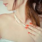 ヘアカラーで美髪の花嫁