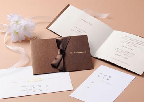 結婚式のペーパーアイテムイメージ