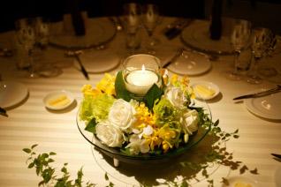 結婚式のテーブルマナーイメージ